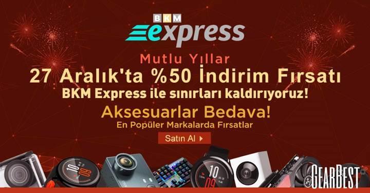 Gearbest Türkiye yılbaşı indirimleri başladı