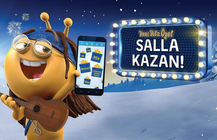 Turkcell müşterilerine yılbaşında Instagram kullanımı hediye