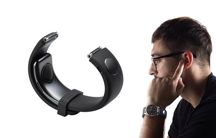 Sgnl ile parmaklarınız kablosuz kulaklığa dönüşüyor