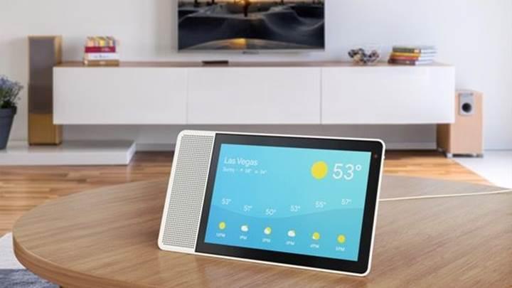 Dokunmatik ekranlı Lenovo akıllı hoparlörü duyuruldu