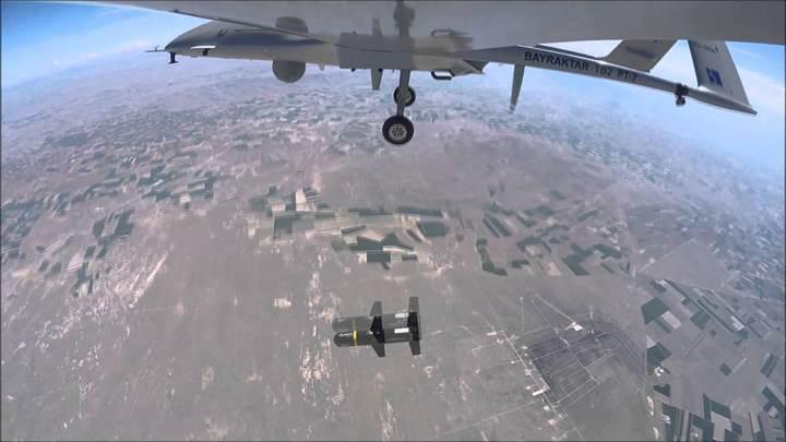 Bayraktar TB-2 SİHA, MAM-L ile Suriye'de göreve çıktı