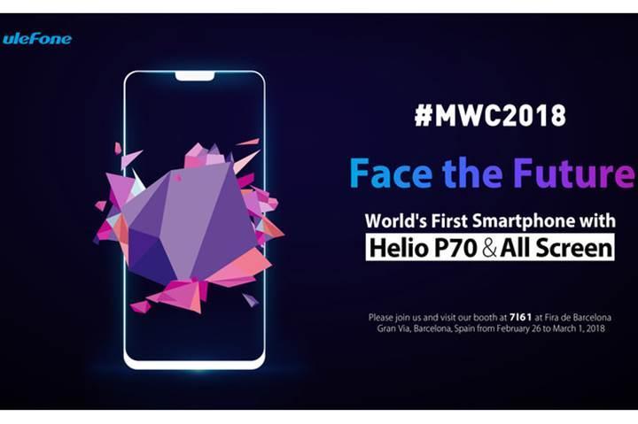 Çinli Ulefone çentik tasarımlı telefonunu MWC 2018 fuarına getiriyor