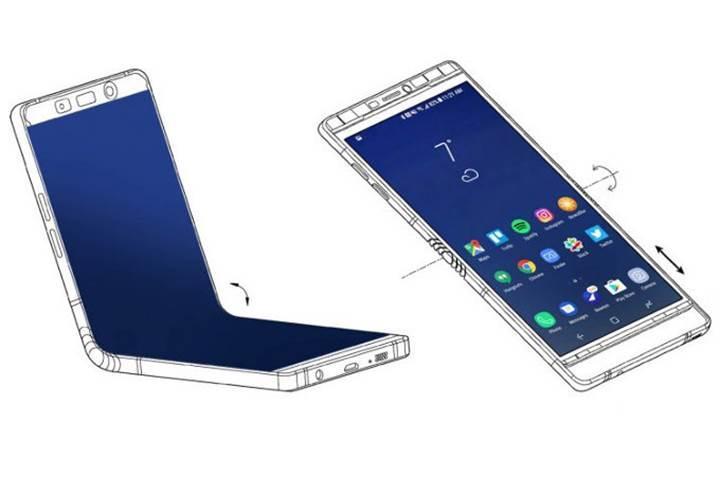 Samsung'un katlanabilir ekranlı telefonu yıl bitmeden geliyor