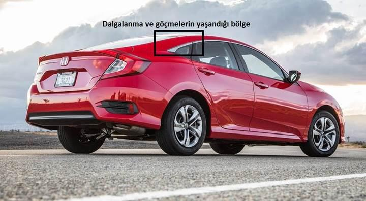 Honda Civic sahipleri araçlarının hatalı üretildiği gerekçesiyle fabrika önünde eylem yaptı