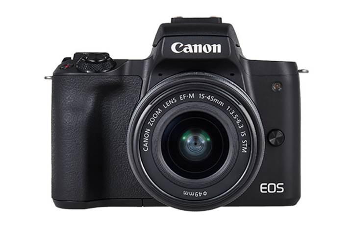 Canon'un 4K video çekebilen yeni fotoğraf makinesi EOS M50 tanıtıldı