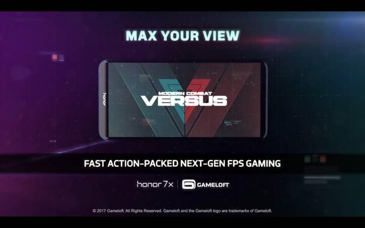 Huawei Honor 7X global pazara Modern Combat Versus desteği ile çıkıyor
