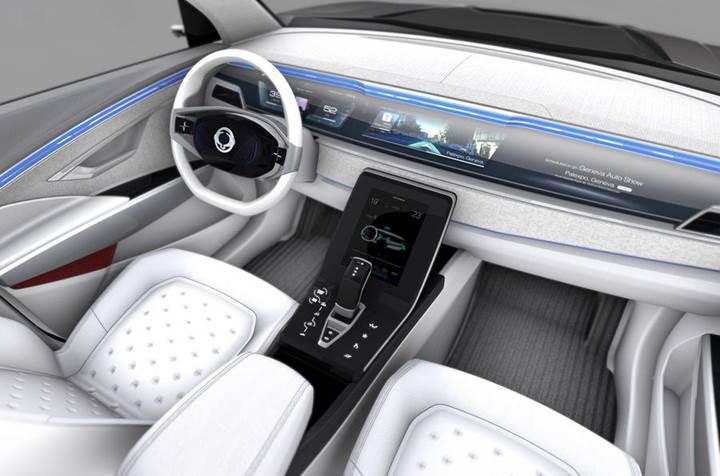 Ssangyong'un elektrikli SUV konsepti e-SIV görücüye çıktı