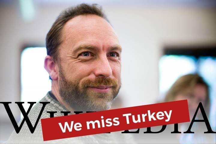"""Wikipedia: """"Türkiye'yi özledik"""""""