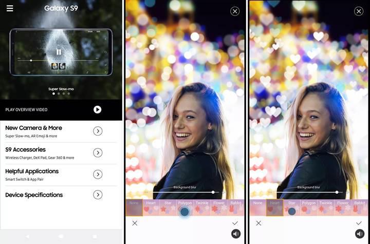 Telefonunuzda Samsung Galaxy S9 özelliklerini deneyebileceğiniz uygulama yayınlandı