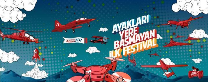 Türkiye'nin ilk havacılık, uzay ve teknoloji festivali için geri sayım başladı