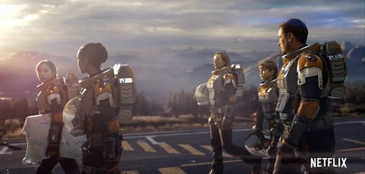 Bilim-kurgu dizisi Lost in Space'in yeni fragmanı yayınlandı
