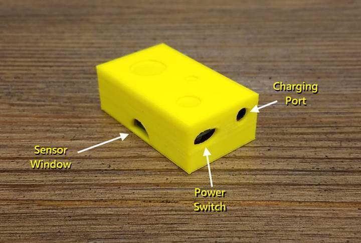 Bu da kablosuz fare kapanı takip sistemi