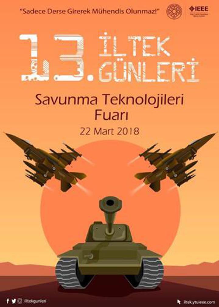 İLTEK Günleri ile teknolojinin enleri önümüzdeki hafta Yıldız Teknik Üniversitesi'nde!