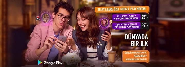 Türk Telekom Selfy'den Google Play kredili yeni tarifeler