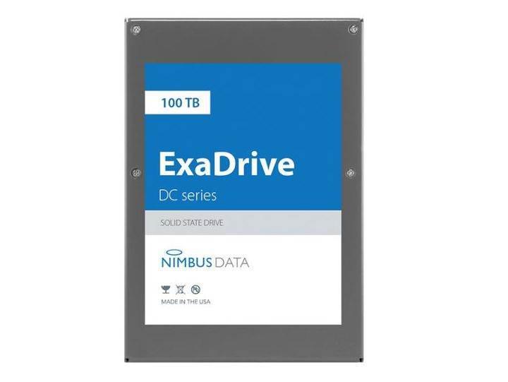 Nimbus Data, 100 TB'lık dünyanın en yüksek kapasiteli SSD'sini duyurdu