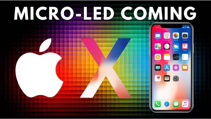Apple, Samsung ve LG'den daha fazla MicroLED patenti başvurusu yaptı