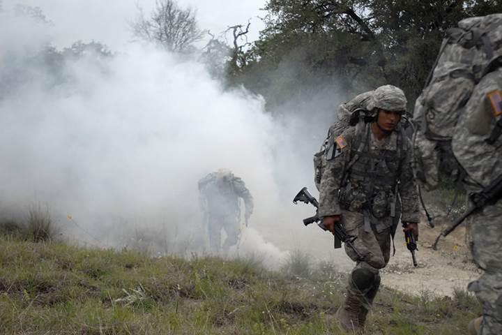 ABD Ordusu kızılötesi görüşü engelleyen sis bombası geliştiriyor