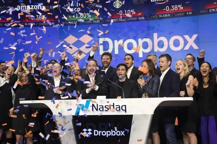 Dropbox ilk halka arzında rekora imza attı