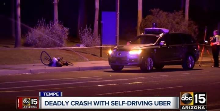 Uber'in sürücüsüz araç testlerine yasak