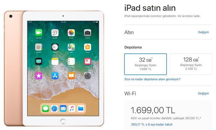 """Uygun fiyatlı yeni iPad 9.7"""" 2018 fiyatı ve çıkış tarihi belli oldu"""
