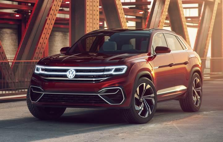 Volkswagen, SUV atağını Atlas Cross Sport konseptiyle devam ettiriyor