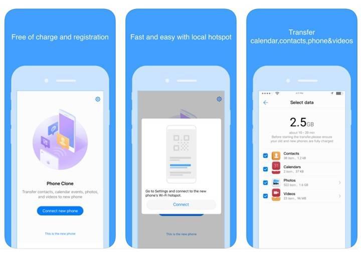 Huawei Phone Clone ile kapsamlı kişisel veri aktarımı yapabilirsiniz