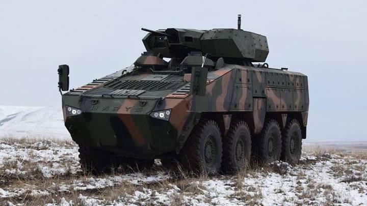 Uzaktan Komutalı Silah sistemi NEFER, zorlu kış testlerini başarıyla tamamladı