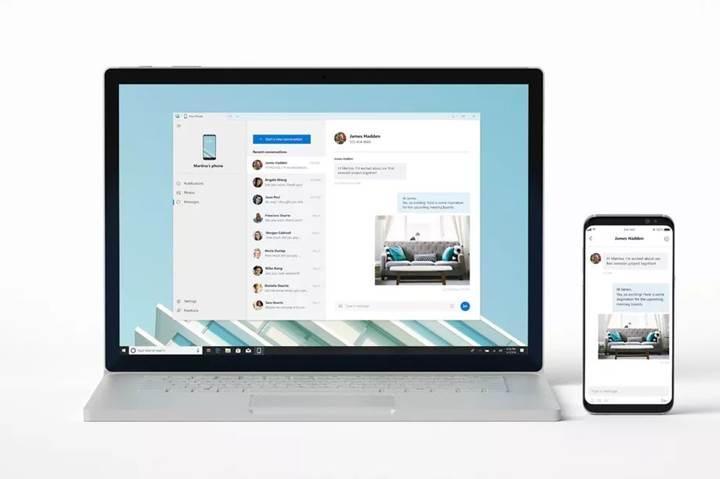Microsoft'un yeni Windows 10 uygulaması akıllı telefonları PC'ye yansıtacak