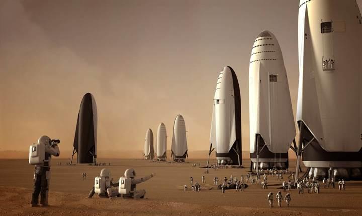 SpaceX, gezegenler arası roketi BFR'ın inşası için resmi izni aldı