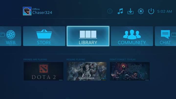 Steam mobil uygulaması ile PC'deki oyunlar telefondan oynanabilecek