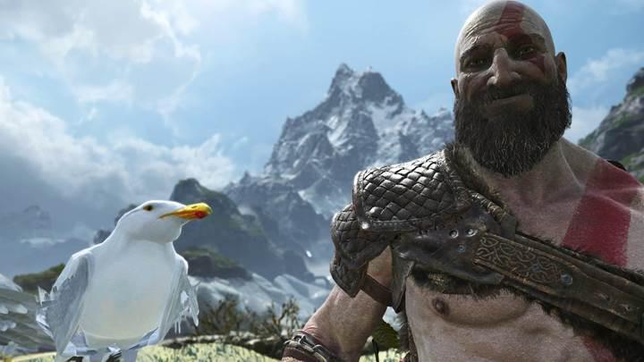 God of War'a eklenen yeni fotoğraf modu, ilginç görüntüler ortaya çıkardı