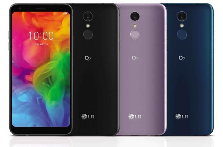LG orta sınıf Q7 modelini resmen duyurdu