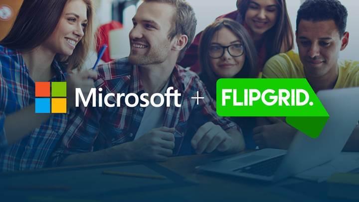 Microsoft, sosyal eğitim platformu Flipgrid'i satın aldığını duyurdu