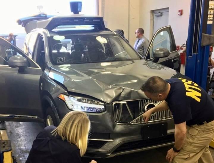 Uber kazasında güvenlik sürücüsünün