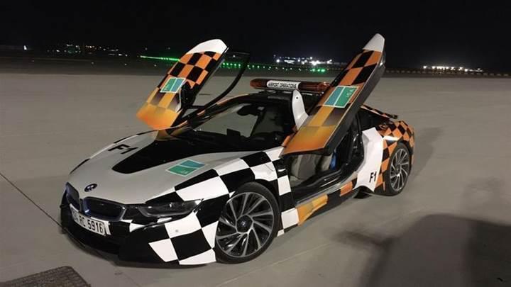 Yeni havalimanında milyonluk BMW i8 modelleri hizmet verecek