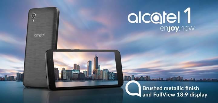 Android Go işletim sistemli Alcatel 1'in fiyatı 89 dolar olarak açıklandı