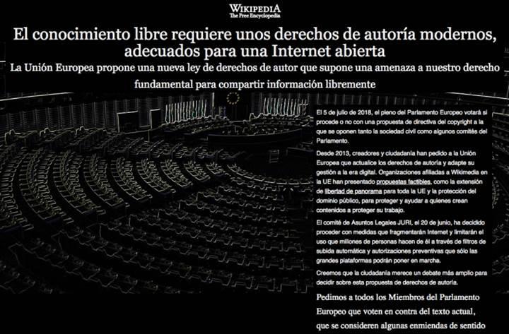 Telif hakkı oylamasına saatler kala Wikipedia'nın protestosu sürüyor