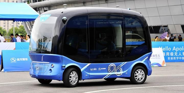 Baidu'nun sürücüsüz otobüsleri yollara çıkmaya hazır
