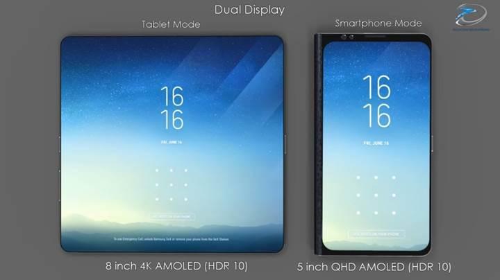 Samsung'un katlanabilir telefonu Galaxy X Ocak'ta, Galaxy 10 ise Şubat ayında gelebilir