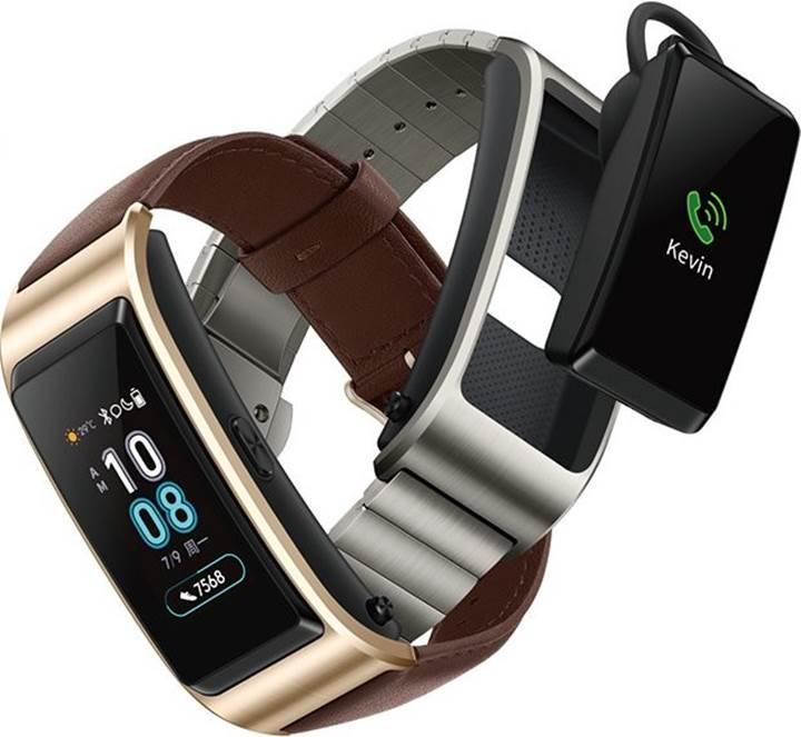 Huawei'den Mi Band 3'e dişli rakip: TalkBand B5 [Hem bileklik hem kulaklık]
