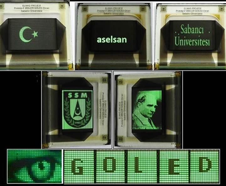 ASELSAN ve Sabancı Üniversitesi, grafen tabanlı OLED ekran geliştiriyor