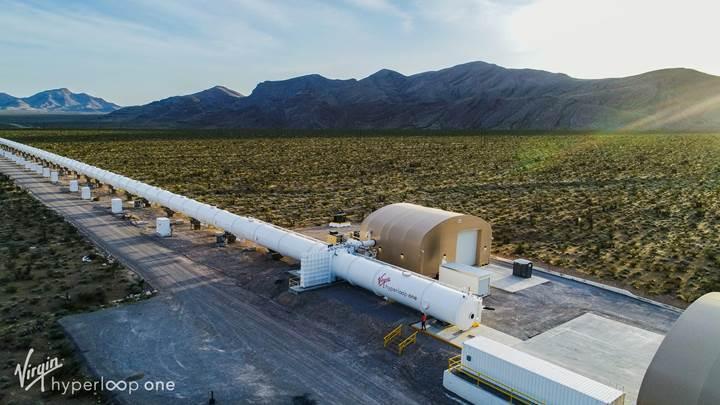 Hyperloop One'dan Avrupa'ya tam 500 milyon dolarlık yatırım