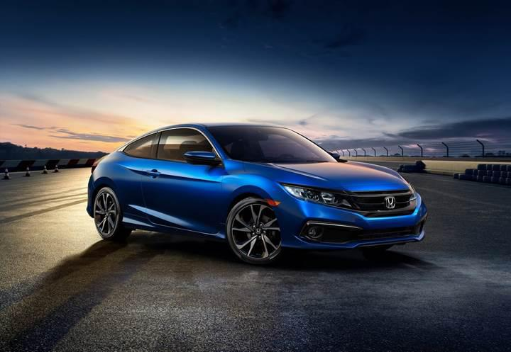 2019 Honda Civic Sedan ve Coupe'ye Sport versiyonu eklendi