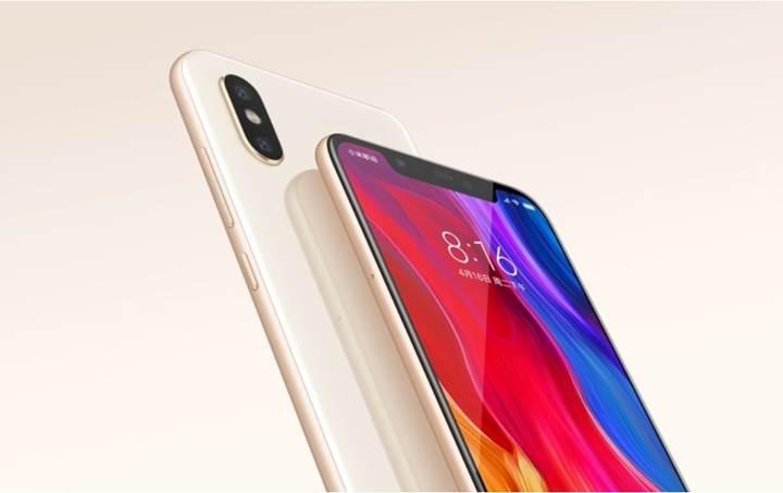 Xiaomi Mi 8 için 8GB RAM ve 128GB depolama seçeneği satışa sunuldu