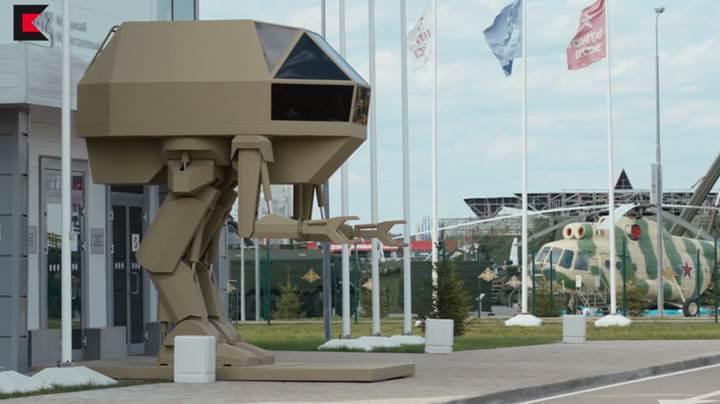 Rus silah üreticisi katil robot geliştiriyor