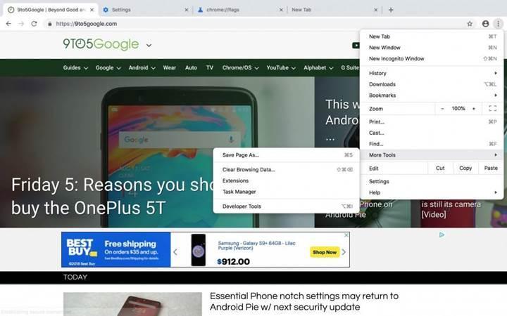 Chrome'un yeni tasarımı 4 Eylül'de kullanıma sunulacak