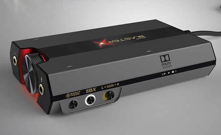 Creative'den yeni Sound BlasterX G6 ses kartı