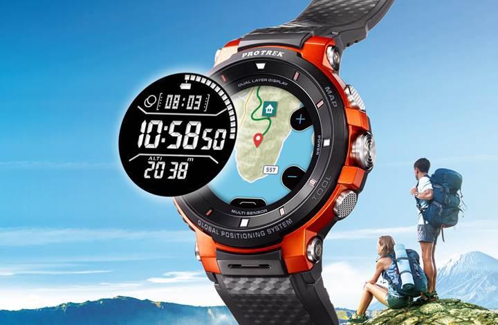Casio çevrimdışı harita ve GPS izleme özelliğine sahip yeni akıllı saatini duyurdu