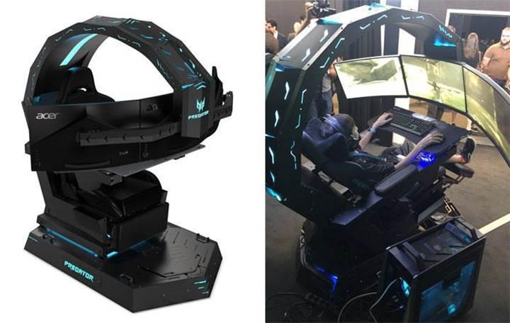 Acer Predator Thronos koltuğu oyunu başka bir seviyeye taşıyor