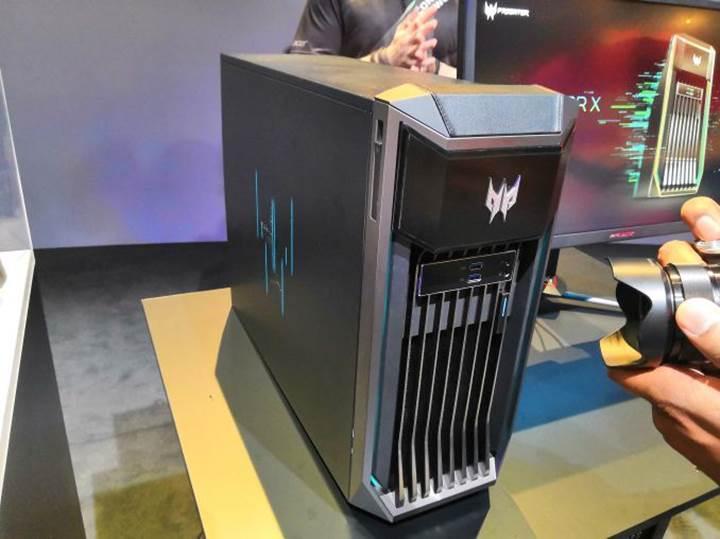 Acer'dan çift Quadro RTX ekran kartlı Predator iş istasyonu